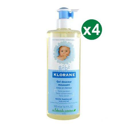 【KLORANE蔻蘿蘭】 寶寶洗髮沐浴精 500ml 四入組