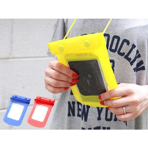 ~PS Mall~彩色手機相機保護套防水手機套_2個 ^(J1415^)