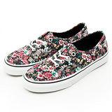 女 VANS 休閒時尚鞋--Authentic--彩花--42010129