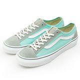女 VANS 休閒時尚鞋--Style 36 Slim--灰綠--42012309