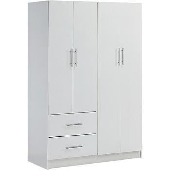 【Hopma】四門二抽衣櫃-三色可選