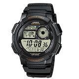 【CASIO】多功能世界時區地圖錶(AE-1000W-1A)