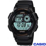 CASIO 世界景觀電子數位運動腕錶 AE-1000W-1A
