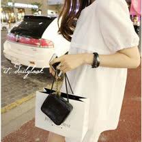 【Maya 名媛】白色(S~2XL) 夏季透氣棉麻 小泡袖A字裙 休閒俏麗款