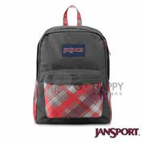 Jansport 25L 簡單休閒後背包(蘇格蘭紋)
