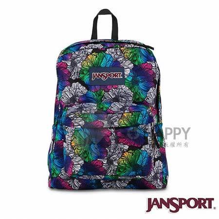 Jansport 25L 簡單休閒後背包(漸層染花)