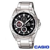 CASIO EDIFICE 重金屬系列三眼六針時尚錶 EF-336D-1A