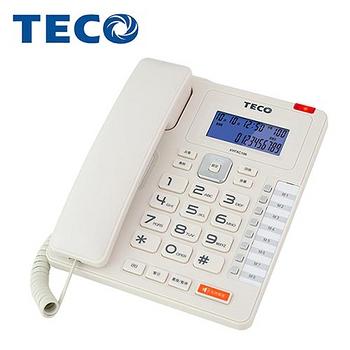 【TECO東元】來電顯示有線電話機(XYFXC106)