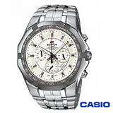CASIO EDIFICE系列極限三眼計時賽車錶 EF-540D-7A