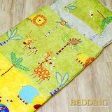 【BEDDING】馬戲團 100%棉 舖棉冬夏兩用兒童睡袋