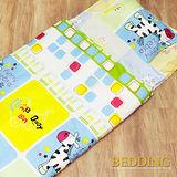 【BEDDING】斑馬 100%棉 舖棉冬夏兩用兒童睡袋