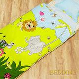 【BEDDING】森林王國 100%棉 舖棉冬夏兩用兒童睡袋
