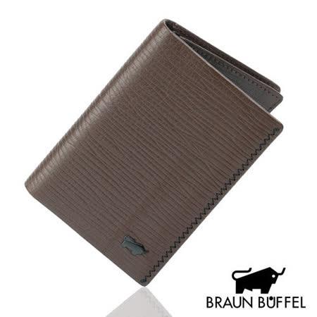 BRAUN BUFFEL 史拜德系列名片夾(咖啡色)BF143-342LD-BR