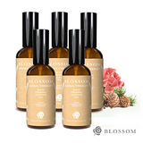 BLOSSOM 植萃勻體曲線緊緻複方按摩油(100ML/瓶)*5入組