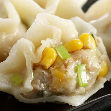 【上野物產】東北手工玉米水餃*5包(1080g土10%/60顆/包)