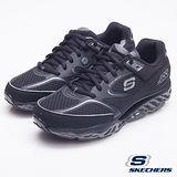 SKECHERS(女)SRR回彈力系列慢跑鞋-99999761BBK