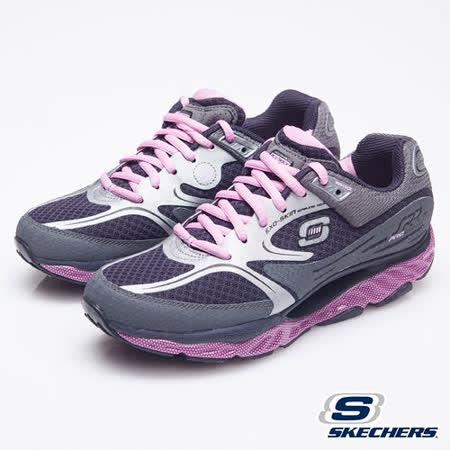 SKECHERS(女)SRR回彈力系列慢跑鞋-99999762CCPK