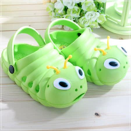 (購物車)魔法Baby~毛毛蟲輕便鞋(草綠18~23)~時尚設計童鞋~S5973