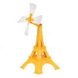 YASE USB巴黎鐵塔風扇(黃)