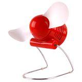 USB螺旋槳風扇(紅)JD-666