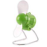 USB螺旋槳風扇(綠)JD-666