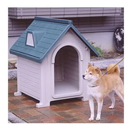 日本Richell 》中大型犬用室外狗屋‧紅色