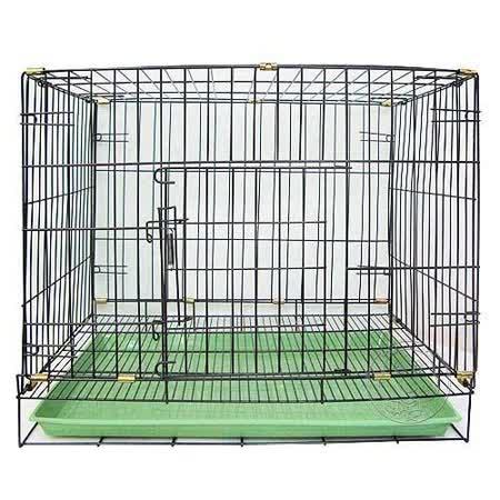 《單門折疊式》靜電黑體居家狗籠-2尺