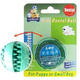 LEO~天然橡膠益智犬用‧迷你健康潔牙球