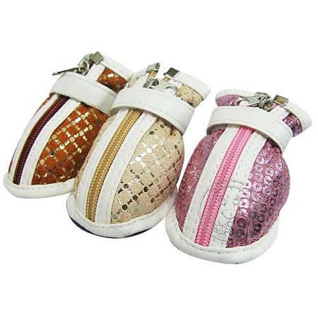 【真心勸敗】gohappy 購物網《PEPPETS》 閃亮亮防護寵物鞋(3) 3款顏色去哪買新光 三越 信義 店