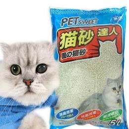 PET SWEET》貓砂達人 粗貓砂5L*4包