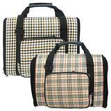 《典雅格紋》多功能手提兩用寵物包-2款花色
