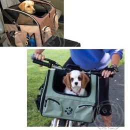 美國~PET GEAR~PG~1450 三合一腳踏車寵物座椅^(6種顏色^)
