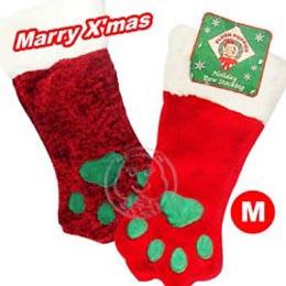 【部落客推薦】gohappy快樂購《道格》 寵物專用 綠腳丫聖誕襪 M (2種顏色)好嗎igood
