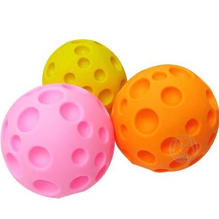 任選滿額399 寵物啾啾叫玩具球-起司球