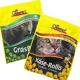 GIMBORN《駿寶》貓咪營養起司球&貓草錠3包