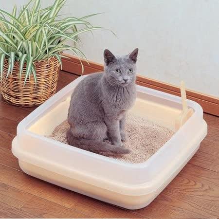 IRIS《雙層》果凍色貓砂盆CA-400N_小