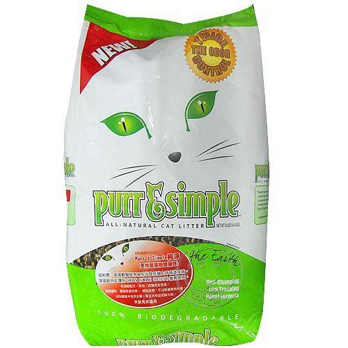 Purr  Simple~純淨~天然堅果殼環保砂~8lbs