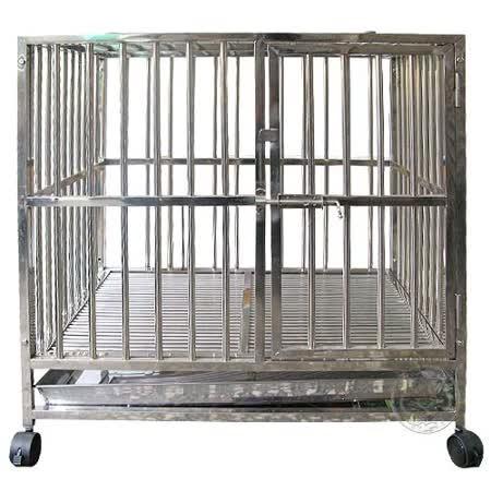 上開組合白鐵管籠3尺*2尺