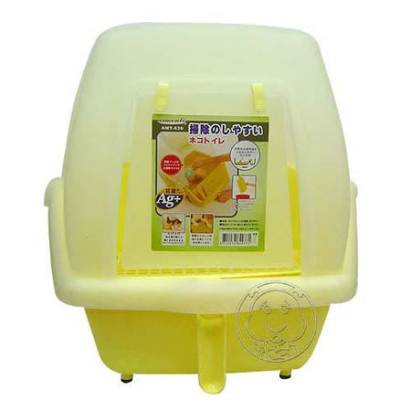 《阿曼特》抗菌方便清掃貓砂盆AMT-630SSN
