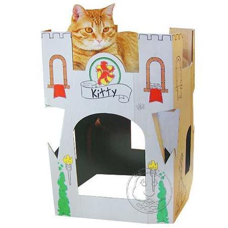 《Omega Paw》貓咪塗鴉城堡(自由著色)