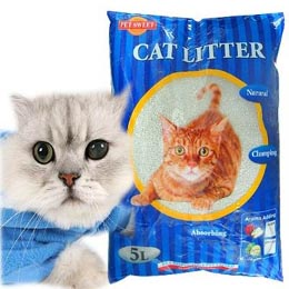 PET SWEET》俄羅斯 檸檬香細貓砂 (5L*4包)