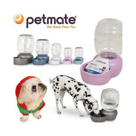 美國Petmate『Replendish』餵水器S容量約3.7公升
