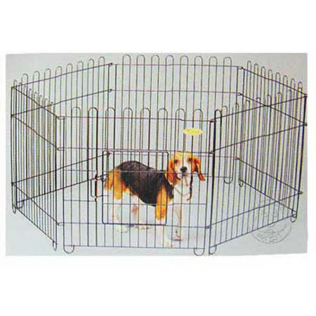 《優質家》寵物圍片黑鐵(6片裝)70*70cm