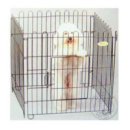 優質家》寵物圍片 黑鐵(4片裝)70*70cm