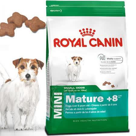 法國皇家SPR+8《小型老犬》飼料-2kg