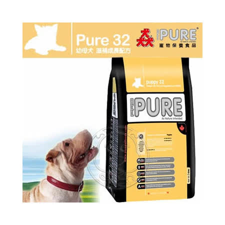 猋Pure32《幼母犬/強健骨骼配方》飼料-7kg