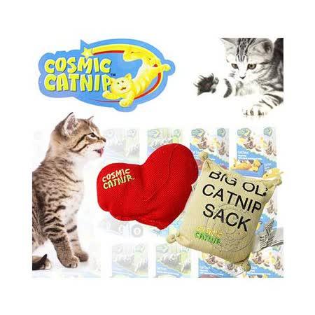 宇宙貓》100%天然貓草玩具 (愛心│羅勒│飛鼠│沙包袋│超級8)隨機出貨