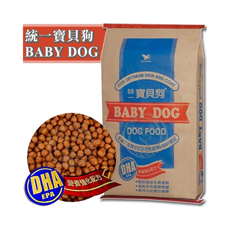 統一寶貝狗《全犬種》營養乾糧(12小包) 60磅/27.2kg