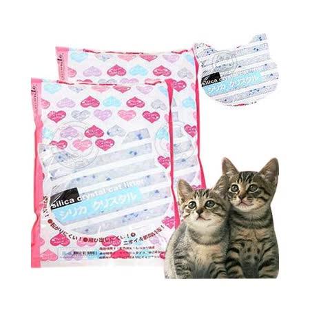 阿曼特《水晶貓砂》原味(AMT-10OSL) 適用雙層貓砂盆 10L‧3包