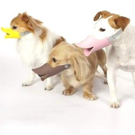 寵物訓練口罩》日本流行鴨嘴套M號顏色隨機出貨